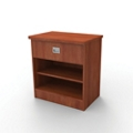 "Behavioral Health Single Drawer Bedside Cabinet - 29""H, 26305"
