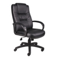 High Back Bonded Leather Managers Chair, 50950