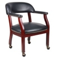 Captains Chair with Casters, 55532