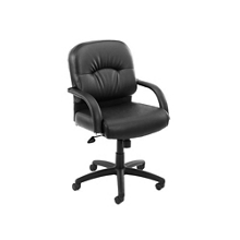 Midback Vinyl Conference Chair with Chrome Accents, 57104