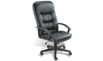 High Back Bonded Leather Executive Chair, 50757