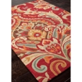 "Large Scale Brocade Design Rug - 60""W x 90""D, 82533"