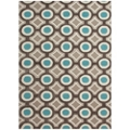 "Geometric Pattern Area Rug - 60""W x 90""D, 82536"