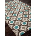 "Geometric Pattern Area Rug - 42""W x 66""D, 82535"