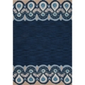 "Greek Motif Area Rug - 90""W x 114""D, 82554"