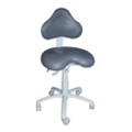 Oversized Dental Stool with Large HybriGel Seat, 57084