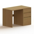 "Wood Compact Computer Desk - 42""W x 24""D, 13724"