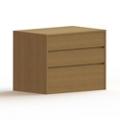 3 Drawer Wood Dresser, 36454