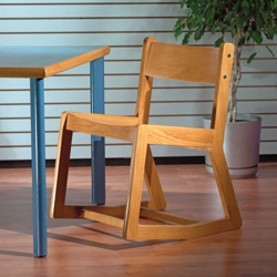 Solid Wood Two Position Chair, 55599