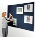 "48""W x 34""H Fabric Tack Board, 80104"