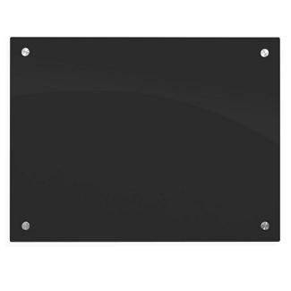 """24""""Wx18""""D Black Markerglass Board, 80451"""