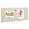"96""W x 48""H Fabric Wrapped Tack Board, 80456"