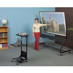 "6"" W x 4"" H Reversible Mobile Projection Board, 80536"