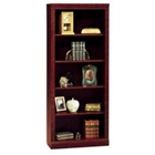 Harvest Cherry Five Shelf Bookcase, CD07421