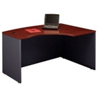 Right L Bow Front Desk Shell, CD07236
