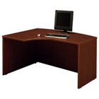 Left L Bow Desk Shell, CD07240