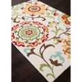 "Flower Pattern Area Rug - 60""W x 90""D, 82526"