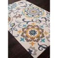 "Flower Pattern Area Rug - 90""W x 114""D, 82527"