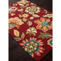 "Rich Flower Pattern Area Rug - 60""W x 90""D, 82528"
