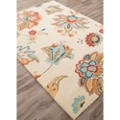 "Gentle Flower Pattern Area Rug - 60""W x 90""D, 82530"