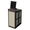 Recycled Outdoor Mobile Storage Cabinet, 36304