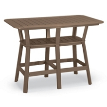 """Bistro Height Table 58"""" x 36"""", 41584"""