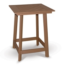 """Cambridge Bistro Height Framed Table 42""""H, 41590"""