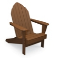 Extra Wide Outdoor Adirondack Chair, 51385