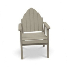 "Outdoor Adirondack Dining Chair with 20"" Wide Seat, 51392"