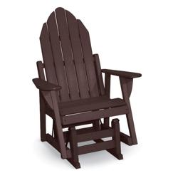 Outdoor Adirondack Glider Chair, 51403