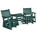 Day Break Mid Back Gliders Set with Table, 51418