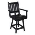 Day Break Mid Back Bistro Height Swivel Chair, 51426