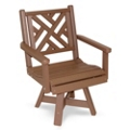 Chippendale 2 Swivel Dining Chair, 51429