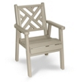 """Chippendale 2 Chair 20""""W, 51430"""