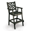 Chippendale 2 Bar Height Chair, 51432