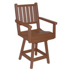 Capri Low Back Bistro Height Swivel Chair, 51439