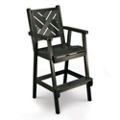 Chippendale 1 Bar Height Chair, 51440