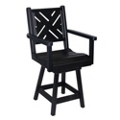 Chippendale 1 Bistro Height Swivel Chair, 51443
