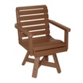 "Garden Swivel Seat Chair 20""W, 51447"