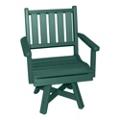 Capri Low Back Swivel Seat Chair, 51462