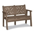 "Chippendale 1 Bench 48""W, 85359"