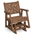 Chippendale 1 Glider Chair, 85382