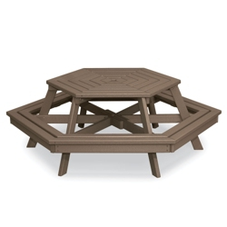Hexagon Picnic Table, 85388