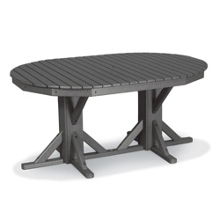"""Oval Dining Table 88"""" x 46"""", 85396"""
