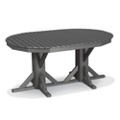 "Oval Dining Table 65"" x 46"", 85394"