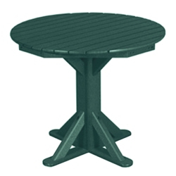 "Cafe Table 36"" Diameter, 85399"