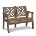 "Chippendale 2 Bench 48""W, 85504"