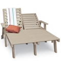 2 Seater Wheeled Chaise Lounge, 85512