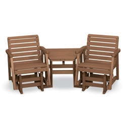 Garden 2 Gliders and Table Set, 85516
