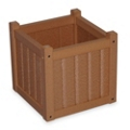 "Square Planter Box 17"", 85523"